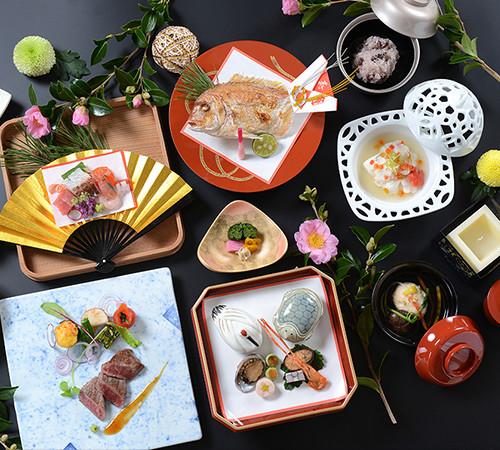 アンビエント安曇野の日本料理